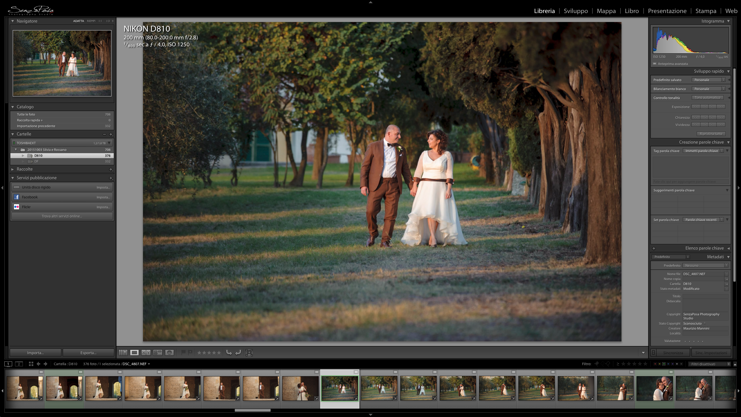 adobe lightroom post production tips for wedding photography