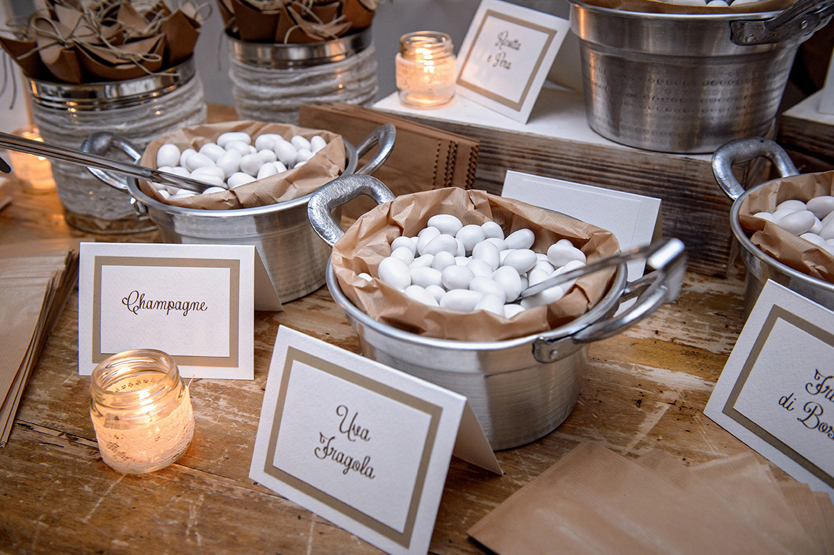 details for wedding in tuscany