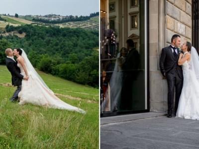 countryside wedding in tuscany