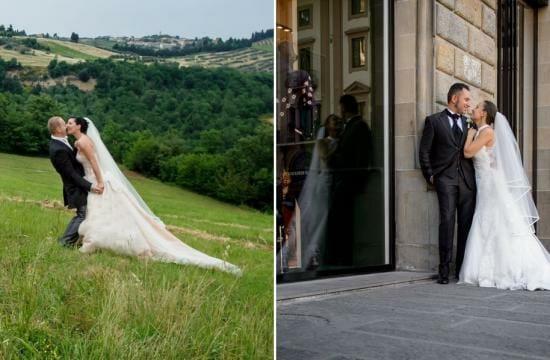 countryside wedding in tuscany