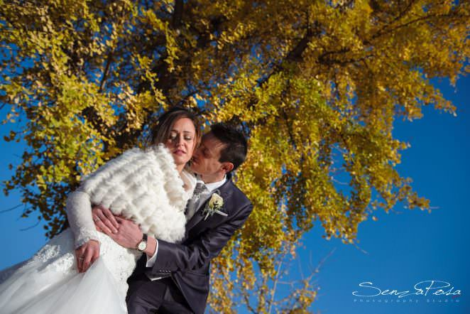 winter wedding in florence