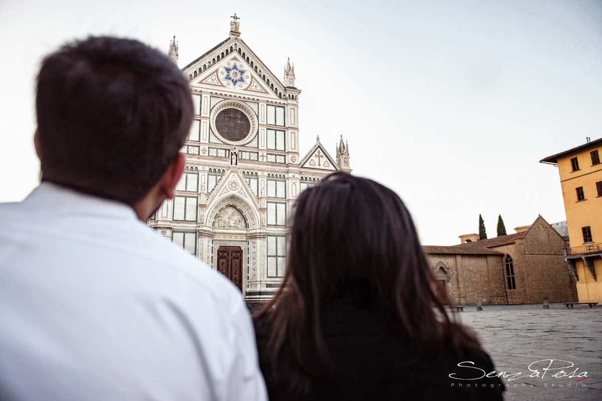 Santa Croce Cathedral in Florence