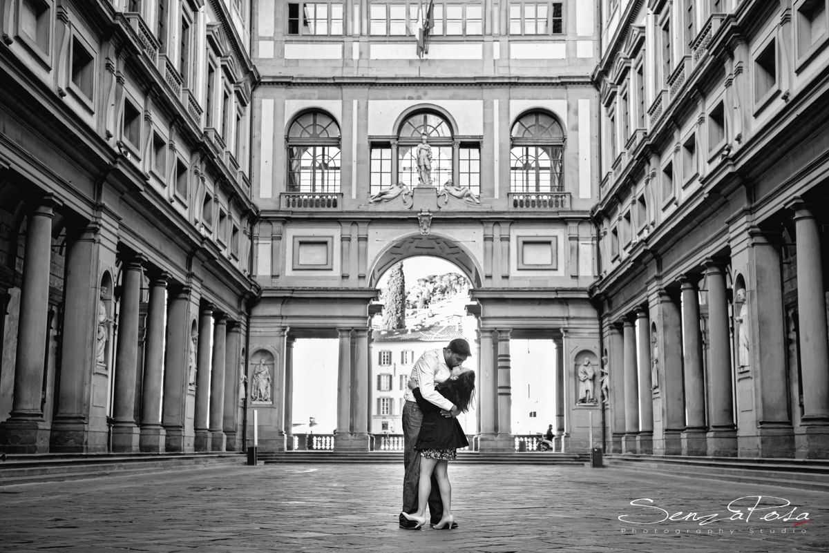 Uffizi museum in Florence