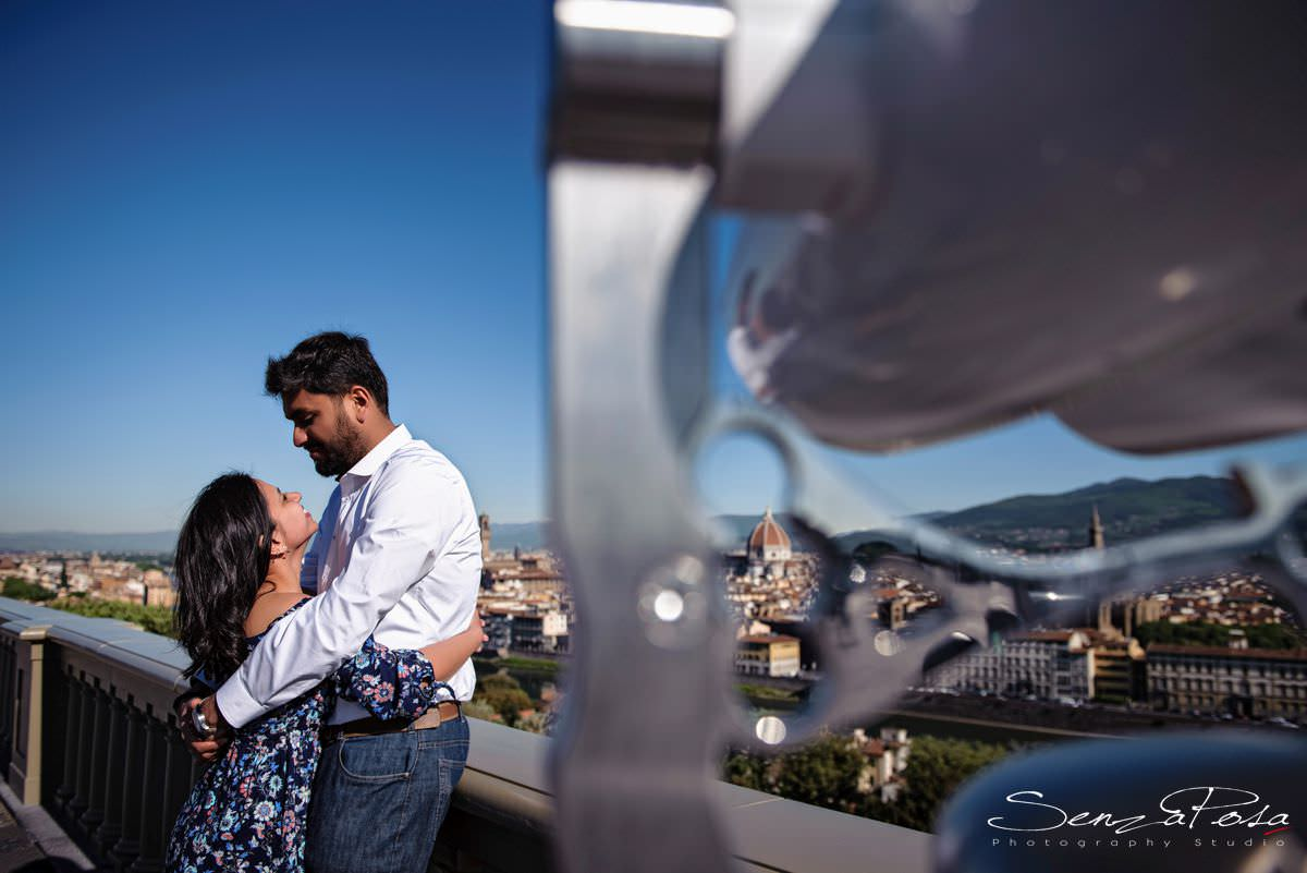 Romantic pictures in Florence during your honeymoon