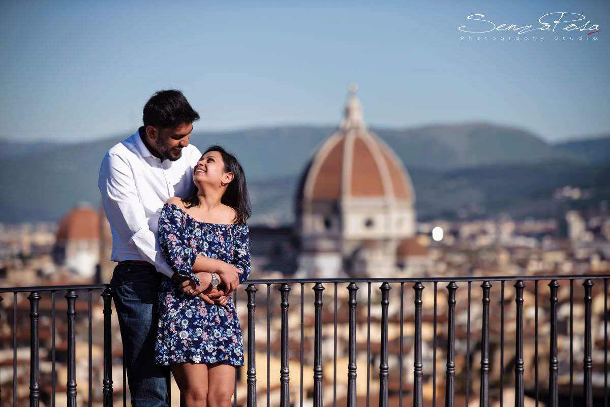 Honeymoon pictures in Florence