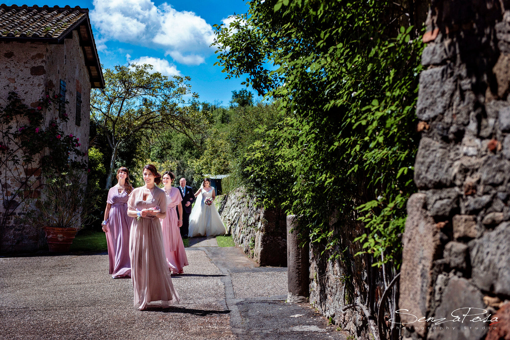 wedding in bracciano